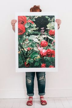 A unique print shop for flower and film geeks who love beautiful images Fox Print, White Wedding Flowers, Drawing For Kids, White Roses, Pretty Flowers, Beautiful Images, Floral Prints, Bloom, Dots