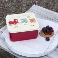 Party Train lunch box