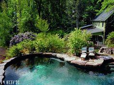 Helena Christensen's Home in the Catskills