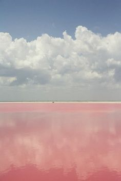 Lake Retba, or as the French refer to it Lac Rose, is pinker than any milkshake. Experts say the lake gives off its pink hue due to cyanobacteria, a harmless halophilic bacteria found in the water. Lake Retba has a high salt content, much like that of the Dead Sea, allowing people to float effortlessly in the massive pink water