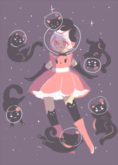 cats in space It looks like Roxy found Cookie Cat