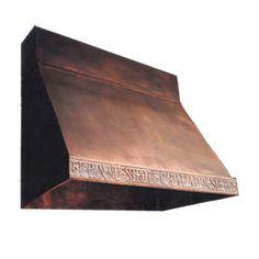 Copper Range Hood from Texas Light Smith
