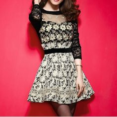Fashion style sexy long sleeve dress BBCIF