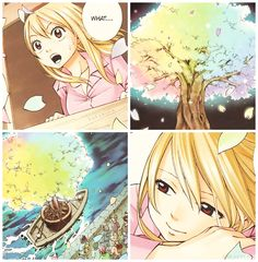 This is one of my favourite moments in fairy tail.... I just love it :3