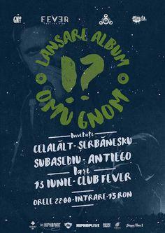Lansare album Omu Gnom @Fever Club