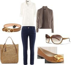 """""""Classy and Smart"""" by mitika1980 on Polyvore"""