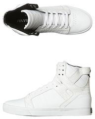 b6524552f3 SUPRA SKYTOP HI SHOE - WHITE CROC. Get marvelous discounts up to 50% Off at  SurfStitch using coupon and Promo Codes.