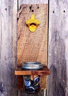 Tarro de masón botella abrelatas regalo de por ShineBoxPrimitives