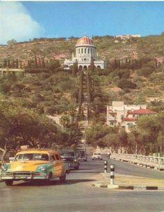 old haifa , palestine Palestine History, Israel History, Israel Palestine, The Beautiful Country, Beautiful Places, Paris Skyline, Seattle Skyline, Haifa Israel, Templer