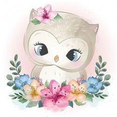 Cute Little Owl Portrait