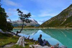 Lago Esmeralda. Tierra del Fuego. Argentina