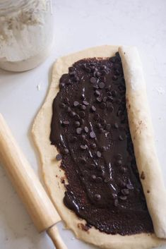 These are the best sourdough chocolate rolls. Big fluffy rolls with a sweet double chocolate filling. The perfect dessert or extra special breakfast it will be hard to stop at one. Sourdough Starter Discard Recipe, Sourdough Recipes, Sourdough Bread, Chocolate Roll, Chocolate Filling, Chocolate Chips, Kitchen Recipes, Cooking Recipes, Cooking Time