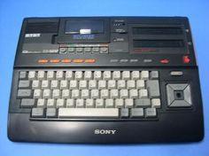 Msx Sony - My First pc