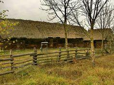 Zabudowania we wsi Lesznia (Podlasie)