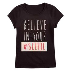 Total Girl® Graphic Tee - Girls 7-16 and Plus  found at @JCPenney