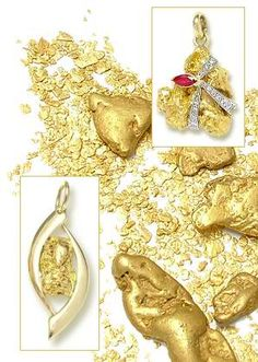 The Gold Room : Gold Nugget Jewellery, Ring, Bracelet & Pendant ...