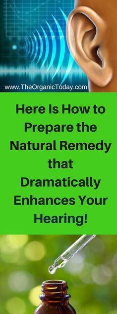 Here Is How to Prepare the Natural Remedy that Dramatically Enhances Your Hearing! It Also Restores Hearing Loss in Elderly People!