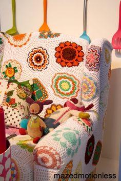 Virginia Costa: Cadeiras Em Crochet - Chochet Chairs