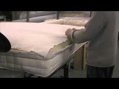 making of a mattress ... wool and coil