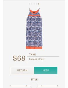 THML Luceea Dress Stitch Fix 2017 ~ Check out the link below for your own personal stylist: https://www.stitchfix.com/referral/4932098?sod=w&som=c