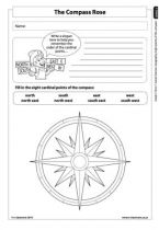 Grade 5 English: Social Sciences: Geography - Term 1 - World Map & Compass Directions - E-Classroom Map Compass, Compass Rose, Social Science, Science And Technology, Life Skills, Social Studies, Geography, Classroom, Education