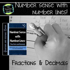A solid understanding of number sense and place value is absolutely critical as we move our students forward in their mathematical thinking. This is true for fractions and decimals too! We often expose students to numbers in a variety of ways...using manipulatives, using 100's charts, and so on.