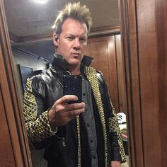 Chris Jericho, Wwe Champions, Professional Wrestling, Wwe Superstars, Future Husband, Leather Jacket, Selfie, Gift, Fashion