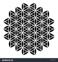 Best Geometric Tattoos And Symbolism Geometric Tattoo Pattern, Geometric Mandala Tattoo, Geometric Type, Sacred Geometry Tattoo, Geometric Stencil, Geometric Patterns, Flower Of Life Tattoo, Flower Tattoo Shoulder, Life Flower