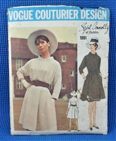Vintage Vogue, Vogue Sewing Patterns, Old And New, Dublin, Im Not Perfect, Size 12, Ebay, Dresses, Design