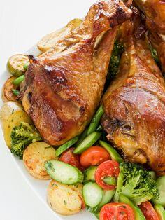Roasted Turkey Drumsticks