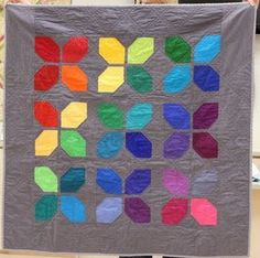 modern quilt- Very simple but effective pattern- All Squares and HST's