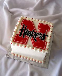 Nebraska Cornhuskers Cake | Flickr - Photo Sharing!