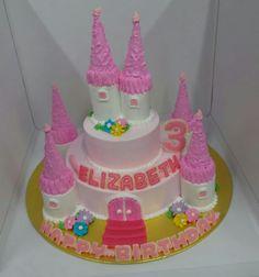 Simple Castle Cake