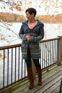 Already Pretty outfit featuring Sundance Catalog Copenhagen Sweater Coat