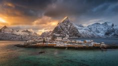 Lofoten islands in nothern norway