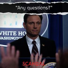 scandal obsess, scandal board, gladiat, question, fitz