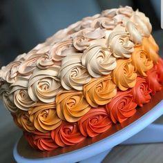 Cupcakes, Cupcake Cakes, Fall Birthday Cakes, Yummy Treats, Sweet Treats, Thanksgiving Cakes, Fall Cakes, Halloween Cakes, Halloween Birthday