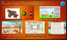 Rutinas Asamblea Apps, Classroom, Ideas Para, School Ideas, Tumblr, Poster, Activities, Ideas, Teachers