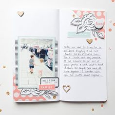 This Has My Heart Traveler's Notebook spread by Mandy Melville | @FelicityJane