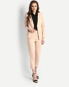 5260623e365ff8 Buy Beige Heidi Suit Co-ords Trousers Set Online at StalkBuyLove |  IN1719MTOCOOBEI-525