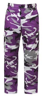 Purple Camo Pants