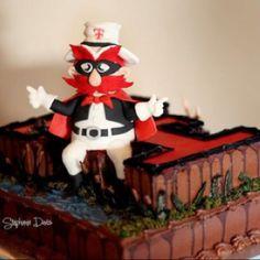 Guns Up! Texas Tech Red Raider grooms cake! granburycakes.com