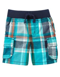 Pull-On Cargo Shorts at Gymboree Collection Name: Surf Wagon (2015)