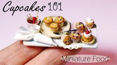 Miniature Cupcake & Muffin Tutorial // Miniature Food 101