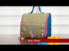 Bolsa de tecido Shanti - Maria Adna Ateliê - Cursos e aulas de bolsas em tecidos - YouTube