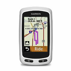 Edge Touring works like the GPS navigator you use in your car, only with maps and features specifically designed to help you find your way by bike.