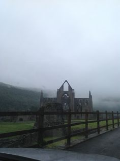 Or how about an eerie Tintern Abbey...