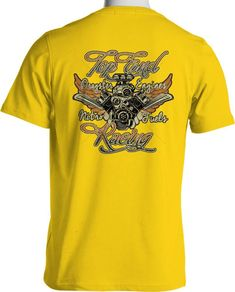 Top Fuel Drag Racing T Shirt Nitromethane Hot Rod Mens Black S to 6XL and Tall #PitStopShirtShop #GraphicTee