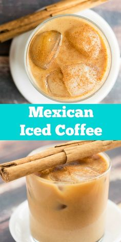 cold brew mexican iced coffee recipe This Cold Brew Iced Coffee Recipe is perfect for the Summer time! Cheers, Coffee Drink Recipes, Cold Coffee Recipe, Mexican Coffee Recipe, Iced Coffee Latte Recipe, Starbucks Recipes, Starbucks Drinks, Cold Brew Iced Coffee, Cold Coffee Drinks