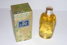 Vintage Bottle Elizabeth Arden Blue Grass Flower Mist Eau De Cologne 6oz W/Box #ElizabethArden